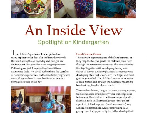 Here is a look inside our beautiful Kindergarten…