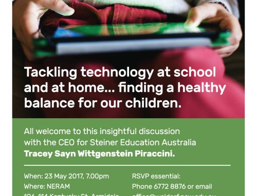 Tackling technology…at school and at home…finding a healthy balance for our children.