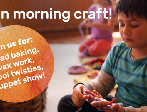 Preschool and Kindergarten Open Craft Morning